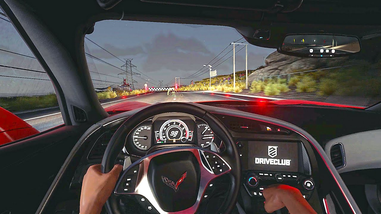 DRIVECLUB NEW LIFE - night drive in Chile 😎