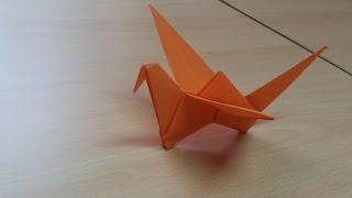 Kako napraviti pticu koja mase krilima! - How to make a paper Bird!