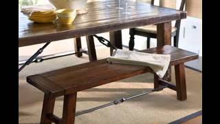 Benches for dining room tables design decorating ideas