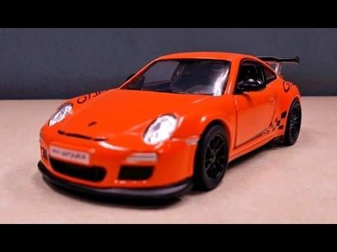kinsmart 2010 porsche 911 gt3 rs
