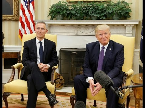 WATCH LIVE: President Trump joint news conference with NATO Secretary General Stoltenberg