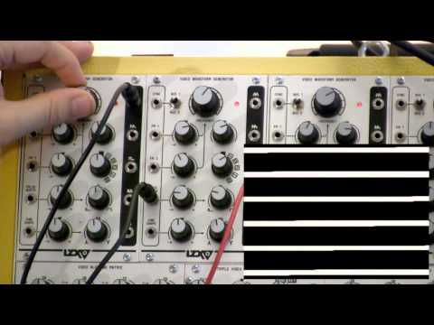 LZX Visionary - Module Overview - Video Waveform Generator