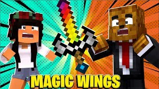 4 Player *Magic Wings Mod* Tumbleweeds - Minecraft Modded Minigame | JeromeASF