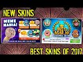AGARIO NEE SECRET SKINS MEME MANIA + THE BEST SKINS FROM 2017 RELEASE