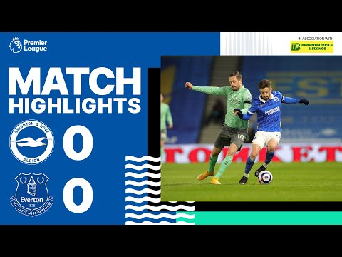 PL Highlights: Brighton & Hove Albion 0 Everton 0