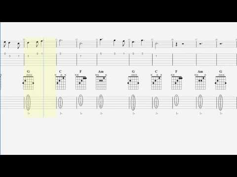 Guitar Tab & Chords - Play That Song - Acoustic