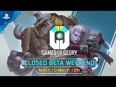 Games of Glory - Closed Beta Weekend Trailer | PS4