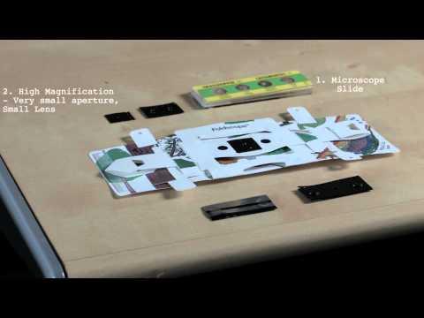 The Foldscope (paper-microscope)