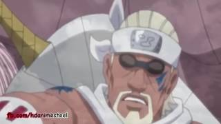 naruto kakashi killer bee and guy vs obito and ten tails full fight english