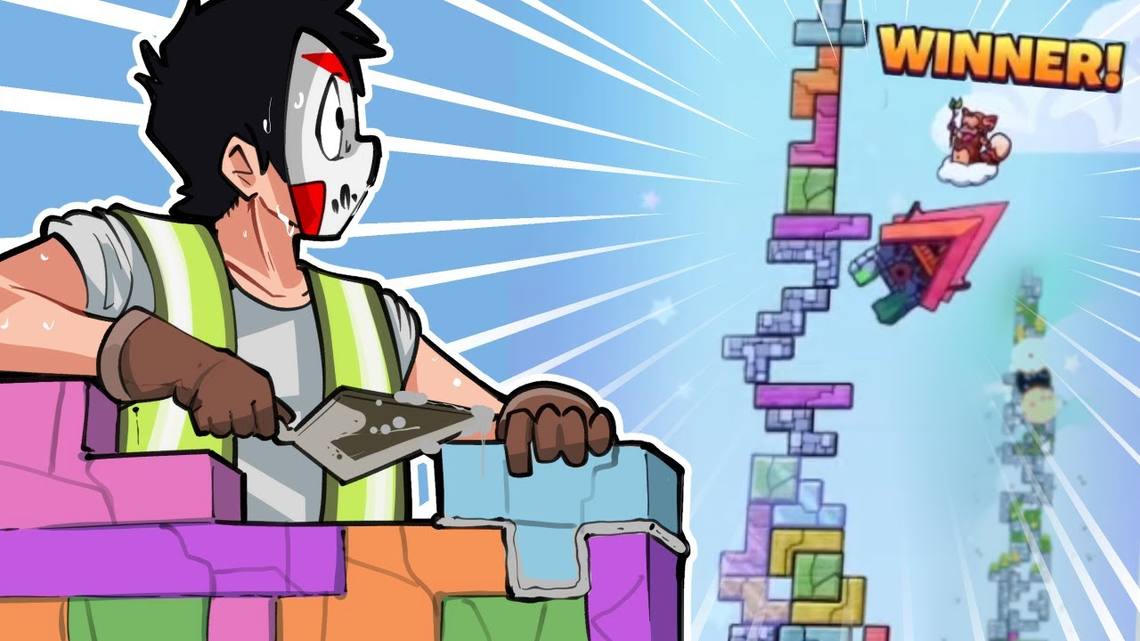 Tricky Towers  - FOUR PLAYER TETRIS BATTLE!!!