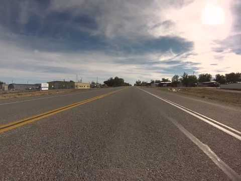 Go Pro Bumper Cam Through Shoshoni Wy