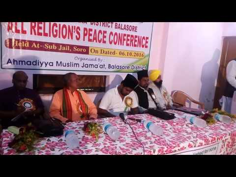 All Religious Peace Conference, District Balasore, Odisha, Indian Held on 06-10-2016,at Soro sub-jai