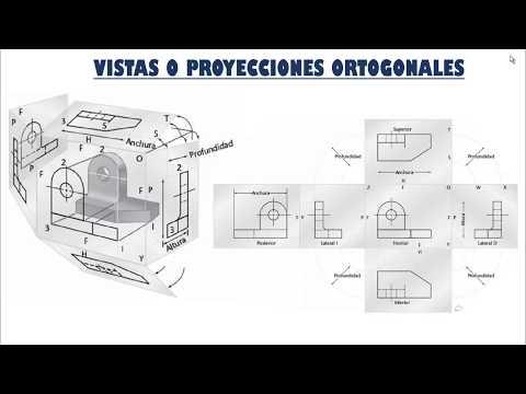 Vistas O Proyecciones Ortogonales | Sistemas ASA Y DIN | Explicación Y Diferencias
