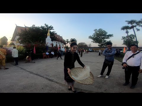 Laos Travel Year at Pha That Sikhottabong Part 3