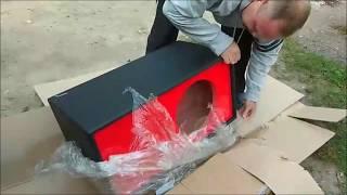 Обзор и  распаковка посылки   короба под  сабвуфер!