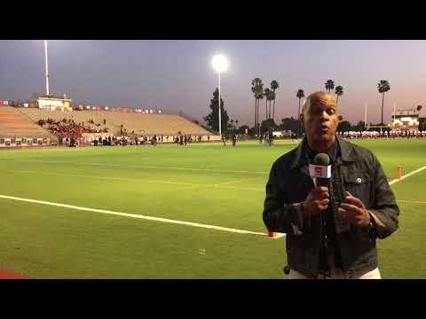 Santa Ana Saints v Orange Panthers PreGame with David Hill - LIVE HIGH SCHOOL FOOTBALL