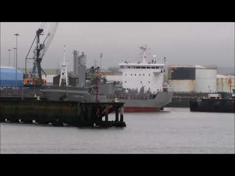 Cyprus Cement at The Port of Workington
