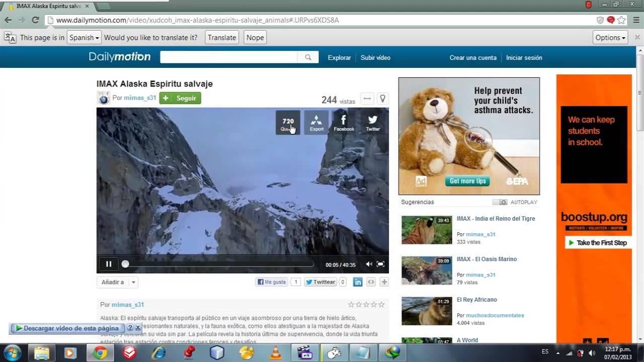 descargar videos de dailymotion