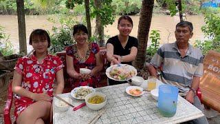 Vlog 86|Gỏi Tôm Chua Cay Ngon Ngất Ngây Lạ Mắt_ Spicy Sour Shrimp Salad| Hồ Thùy Dương Vlog
