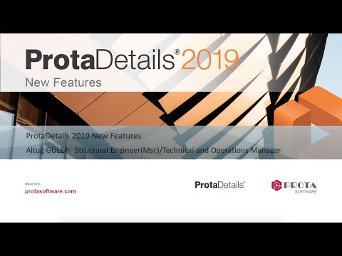 ProtaDetails 2019 – New Features