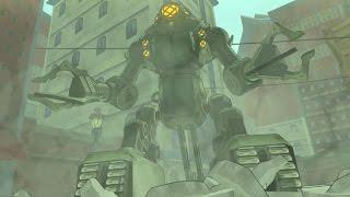 The Legend of Korra Video Game PS4 - Walkthrough Mecha Tank Boss Battle Gameplay