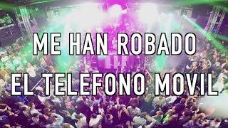 Me han robado el móvil/celular de fiesta en Madrid
