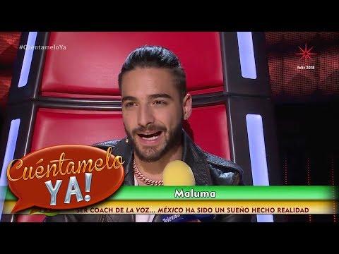 ¿Cuáles son los planes de Maluma en este 2018? | Cuéntamelo YA!