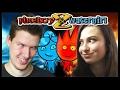 POTRÁPILI SME MODZGY! - Fireboy and Watergirl 2 w/Zika