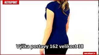 a1bdaef643d dámské triko kixmi haven tmavě modrá ...