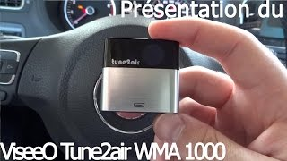 iPhone 7 and bluetooth for Volkswagen Polo 6R - ViseeOTune2air WMA1000