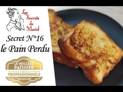 recette-pain-perdu-caramélisé-et-crémeux-//-les-secrets-de-muriel-//-lmp-professionnel