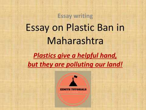 Samples Of Essay Writing In English Essay Plastic Ban In Maharashtra  Plastic Pollution Essay About English Language also Example Of An Essay Proposal Essay Plastic Ban In Maharashtra  Plastic Pollution  Youtube Persuasive Essay Topics For High School
