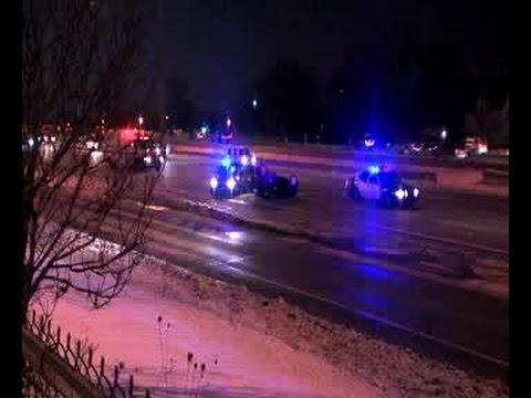2 cars flip over in I-90 Eastbound crash - YouTube