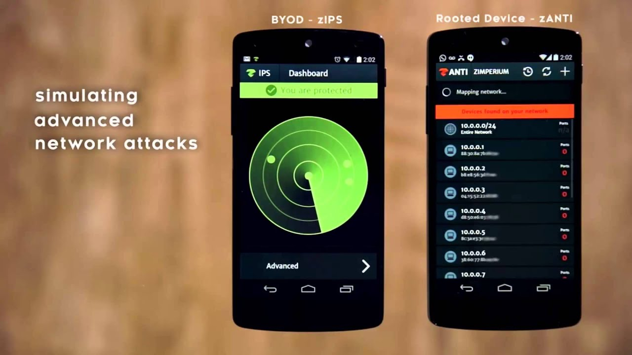 Part-2 -Android IPS App -Zimperium Intrusion Prevention Systems (zIPS)