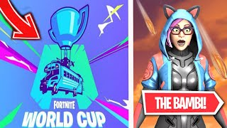 [Live Fortnite EN] I'm ENTRAINE FOR THE WORLD CUP 2020! SKIN WORLD CUP IN BOUTIQUE! Fortnite
