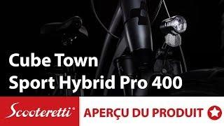 Cube Town Sport Hybrid Pro 400 - Vélo Électrique Cube Canada