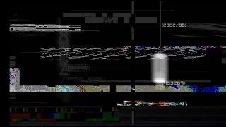 футаж глитч-помехи со звуком (сурс)