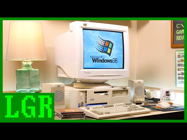 Exploring the IBM NetVista M41 Windows 98 PC