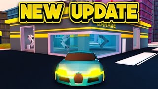 NEUES GARAGE UPDATE & MEHR! (ROBLOX Jailbreak)