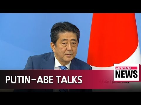 Japan's Abe, Russia's Putin agree to promote economic programs on disputed islands in Pacific