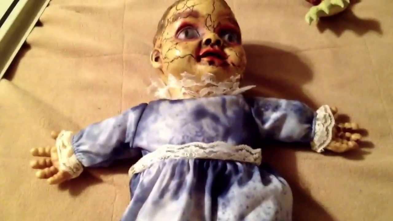 Spirit Alien Zombie Baby Monkey Chimes Evil Attic Doll