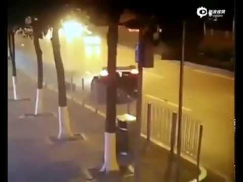 Watch This $4 Million Koenigsegg Crash Heavily in China