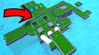MINIGOLF PUZZLE MAP - ONLY ONE HOLE - GOLF IT