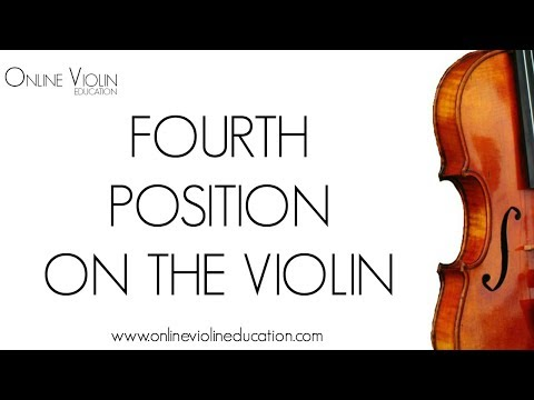 Fourth Position on the Violin