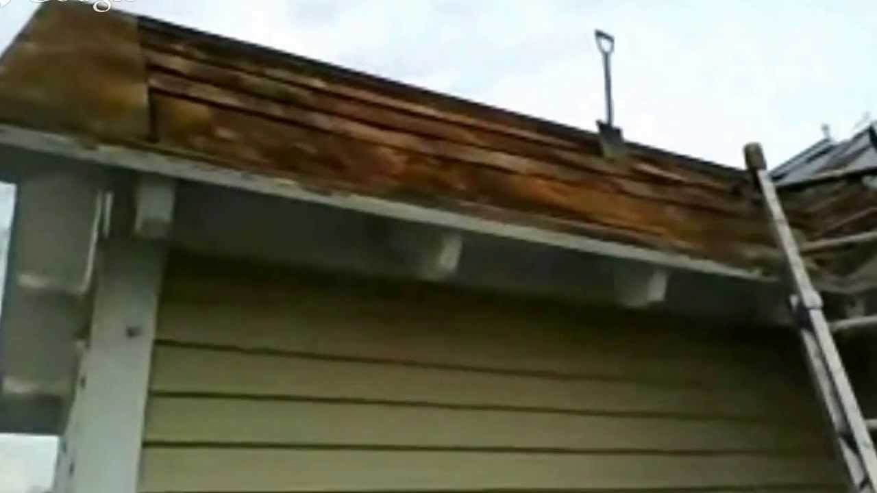Removing A Old Metal Roof Clifton Va Youtube