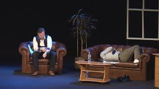 UTV. В Уфе состоялась премьера единственного в своем роде спектакля-тренинга Бизнес, я и жизнь моя