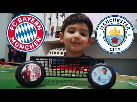 Canal do Gu ! Bayern x Manchester City - Futebol de Botão