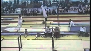 Parallel bars - Gymnast 3 (Voronin Cup 2012)