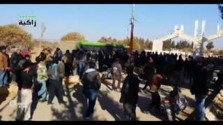التغيير الديموغرافي والتهجير يطال بلدة كناكر بريف دمشق .. والوجهة إدلب