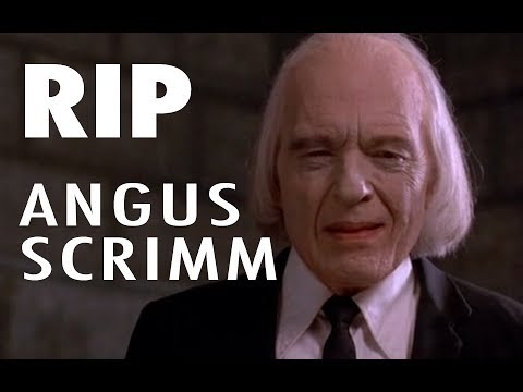 Angus Scrimm (1926-2016)